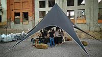 Аренда палатки Звезда - цвет черный, фото 1