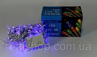 Новогодняя гирлянда LED 400 B-1  (400 светодиодов) Синий