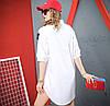 Хлопковое платье-рубашка 44-54 (в расцветках), фото 8