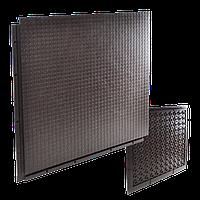 Напольное покрытие модуль-плита облегчённая «Кольчуга» из ПВХ
