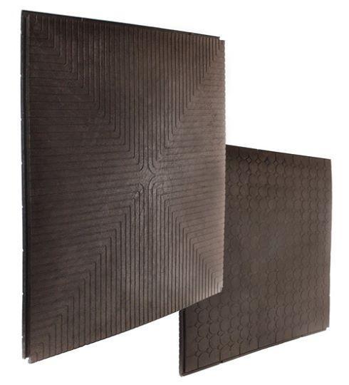 Напольное покрытие модуль-плита «Декор» из ПВХ