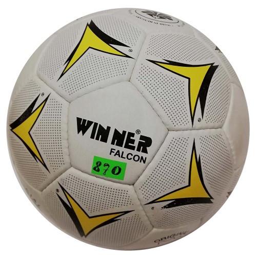 М'яч футбольний шкіряний Winner Falcon