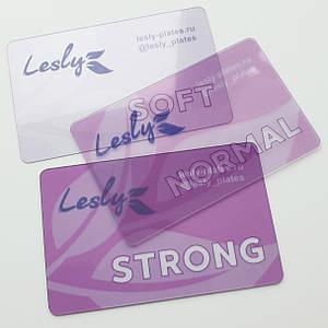 Набор скребков Lesly разной жесткости