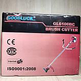 Бензокоса Goodluck GL6100BC (1 нож, 1 катушка) мотокоса, фото 5