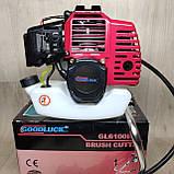 Бензокоса Goodluck GL6100BC (1 нож, 1 катушка) мотокоса, фото 2