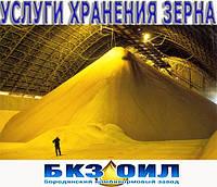 Услуги хранения зерна. Зернохранилище, Складские услуги!