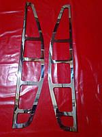 Накладки на задние фонари FIAT DOBLO 00-06 г.в.