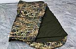 Тактический спальник + компрессионный мешок (-2/-7). Спальный мешок для похода весна и осень, фото 4