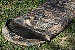 Тактический спальник + компрессионный мешок (-2/-7). Спальный мешок для похода весна и осень, фото 5