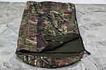 Тактический спальник + компрессионный мешок (-2/-7). Спальный мешок для похода весна и осень, фото 9