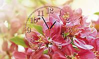"""Часы настенные стеклянные """"Цветенье груши"""", фото 1"""