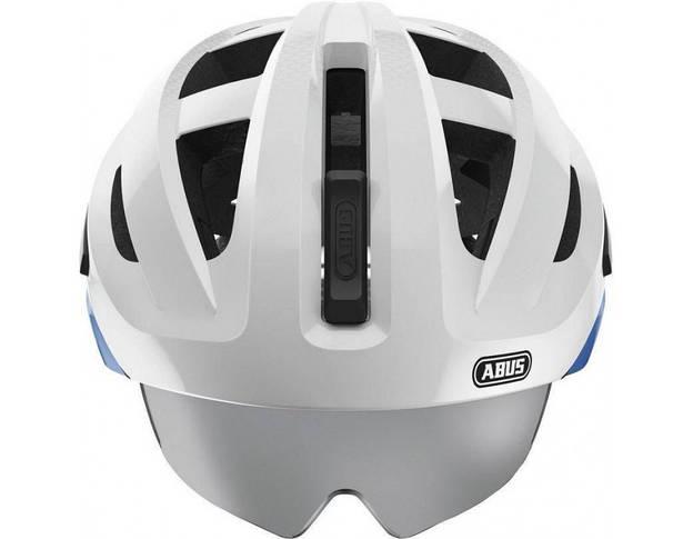Шолом велосипедний ABUS IN-VIZZ ASCENT L Blue Comb, фото 2