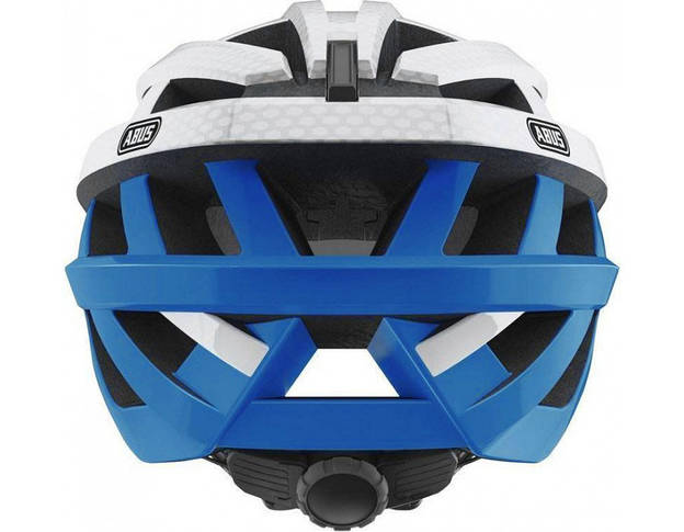 Шолом велосипедний ABUS IN-VIZZ ASCENT L Blue Comb, фото 3