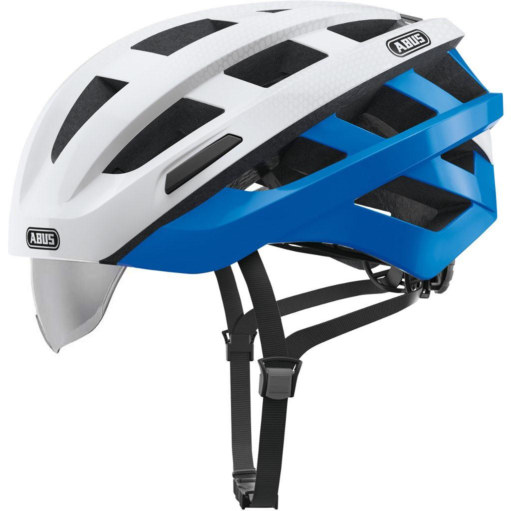 Шолом велосипедний ABUS IN-VIZZ ASCENT L Blue Comb