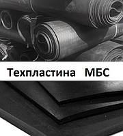 Техпластина МБС 5 мм 500х500 мм