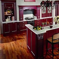 Кухня- с деревянными фасадами на фурнитуре Blum или Hettich