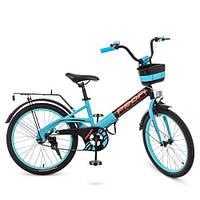 Детский двухколесный велосипед PROF1 20Д. W20115-8, фото 1