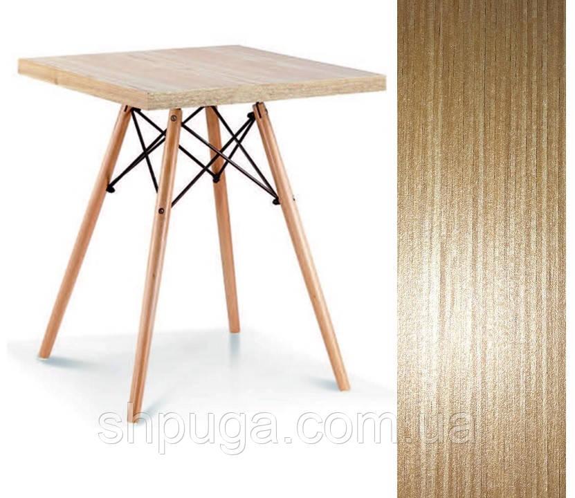 Стол обеденный Эльба D, дерево, квадратный 80*80 см