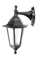 Садово-парковый светильник, медь НС 06