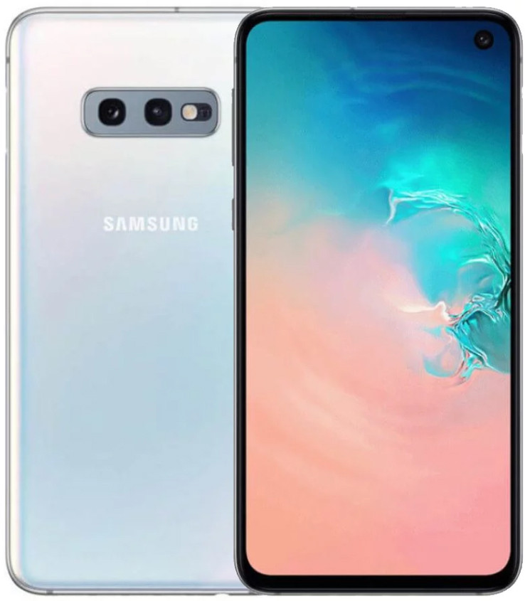 Сенсорный мобильный телефон Samsung Galaxy S10e 6/128 GB White