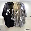 Модне плаття сорочка в ромашок 44-54 (в кольорах), фото 2