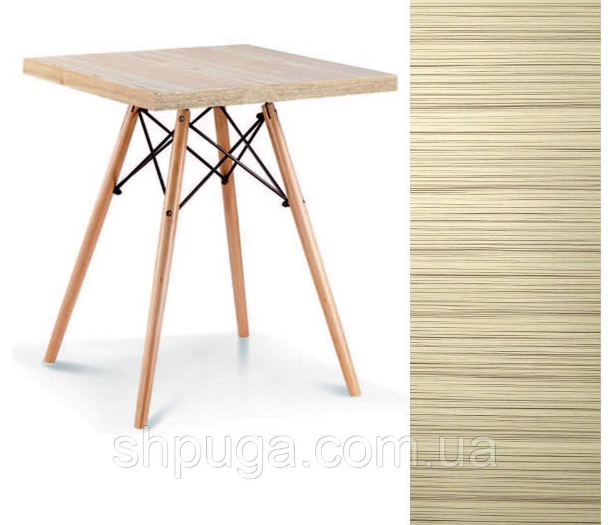 Стол обеденный Эльба N, дерево, квадратный 80*80 см