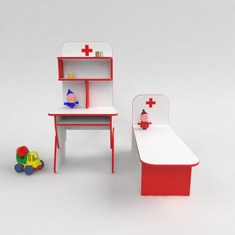 Детская игровая стенка Больница от производителя