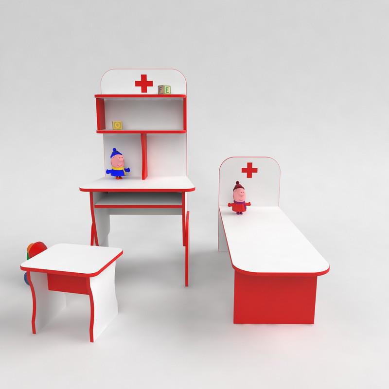 Мебель для детского сада игровая Больница со стулом