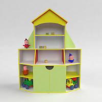 """Детская мебель. Стенка для игрушек """"Книжный дом"""" в детский сад и домой!, фото 1"""