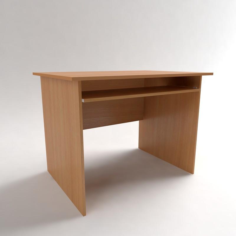 Стол компьютерный с полкой под клавиатуру СК-1