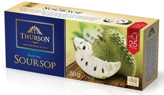 Чай зеленый пакетированный Thurson Саусеп 25 пак.