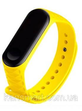 Ремешок для Xiaomi Mi Band 3 желтый