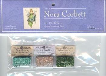 Набор бисера к схеме Fern Nora Corbett Embellishment Pack