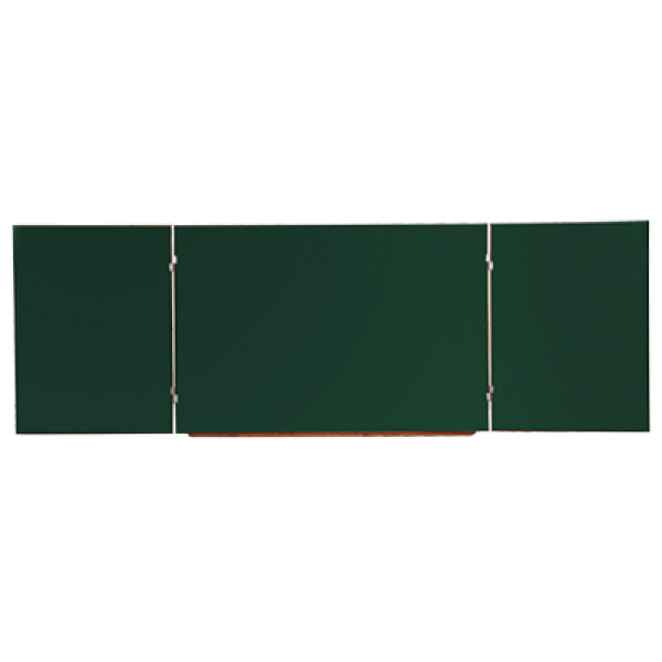 Доска школьная магнитная 5-ти поверхностная меловая 3000х1000