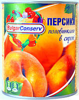 Персик половинками в сиропе Bulgar Conserv 850 мл