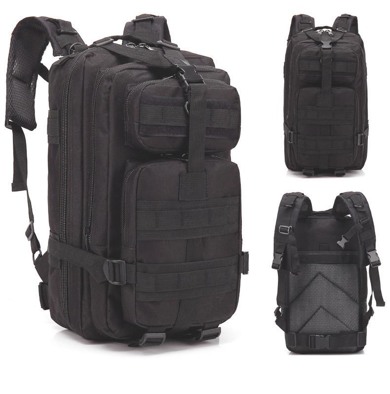 Рюкзак Тактический, походный, военный рюкзак Military. 25 L. Черный.
