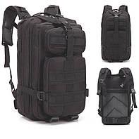 Рюкзак Тактический, походный, военный рюкзак Military. 25 L. Черный., фото 1