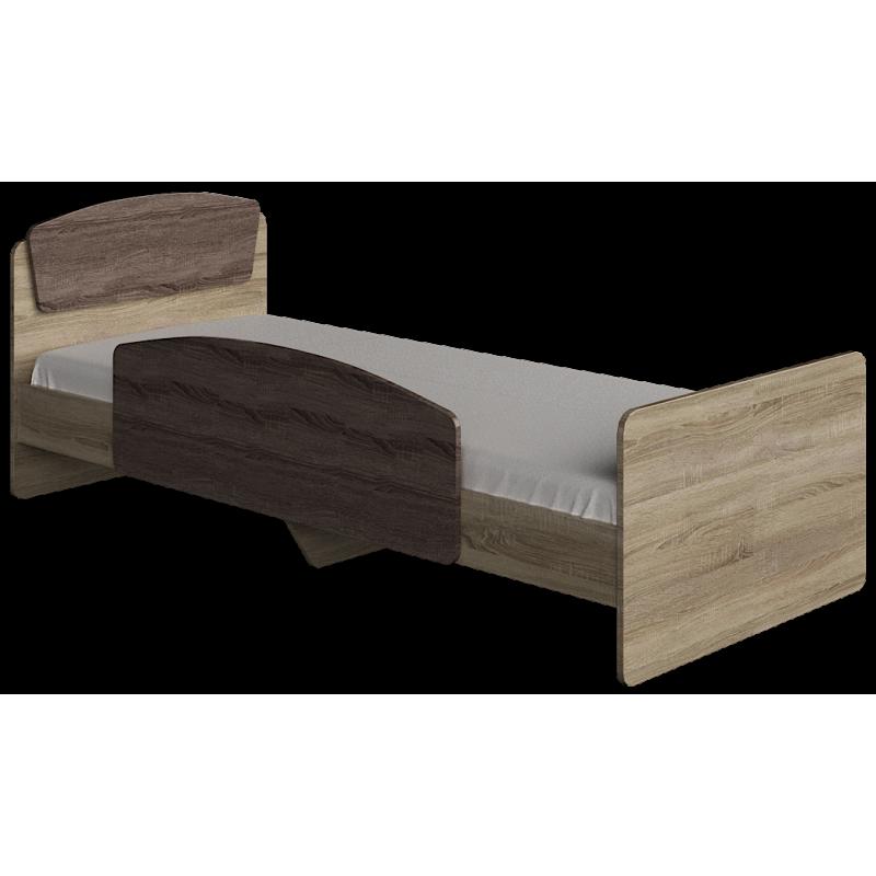 Кровать Астория - 2 (с боковой планкой)