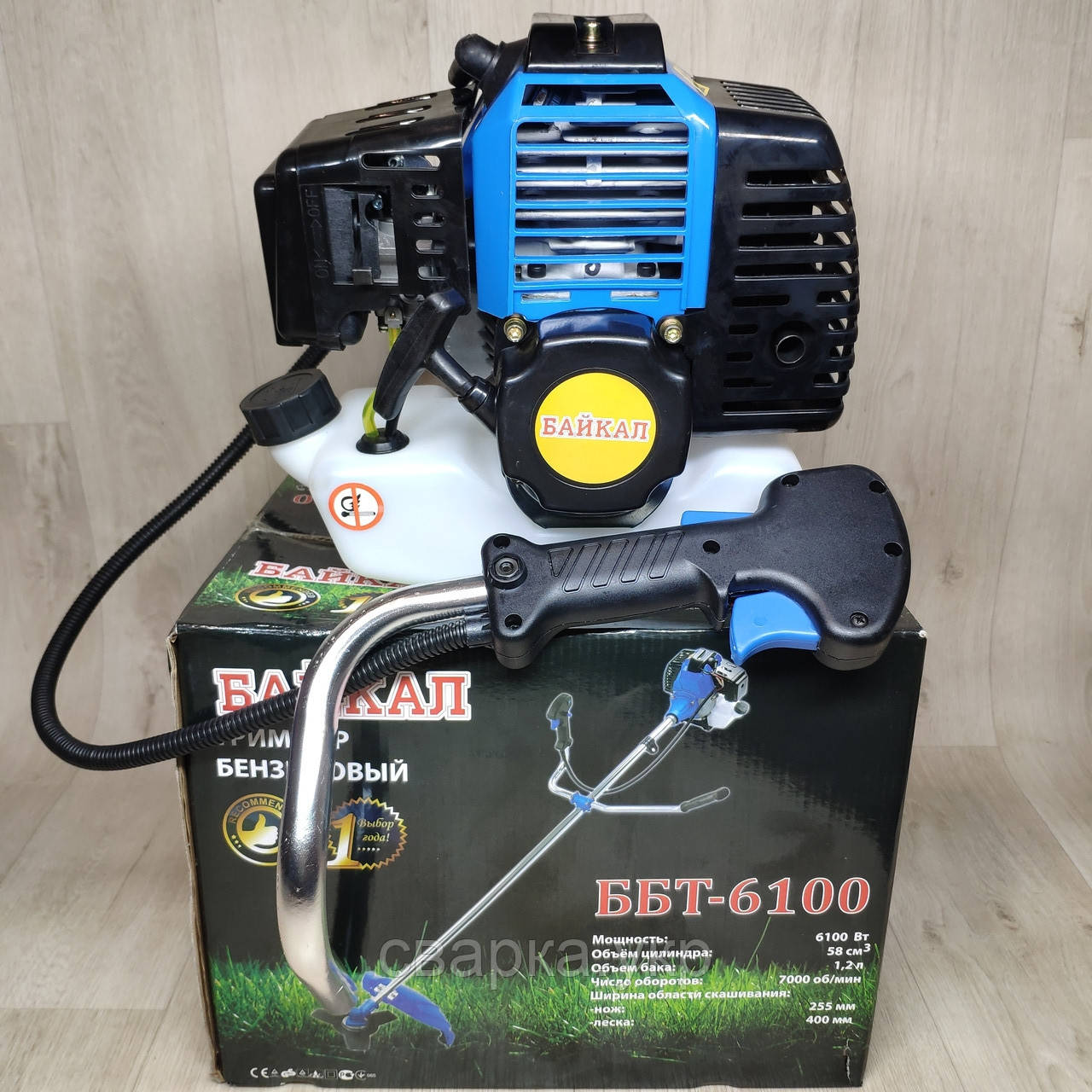 Бензокоса Байкал ББТ-6100 Professional мотокоса