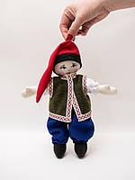 Мягкая шарнирная кукла малая мальчик