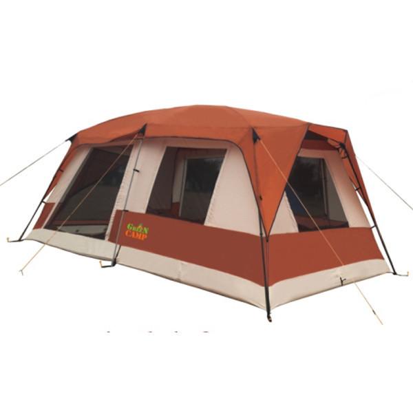 Палатка 6+3 местная GreenCamp GC1610