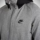 Толстовка Толстовка Nike Air Max Full-Zip French Terry 886071-091) - Оригинал, фото 4