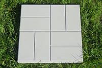 Тротуарная плита 8 Кирпичиков, фото 1