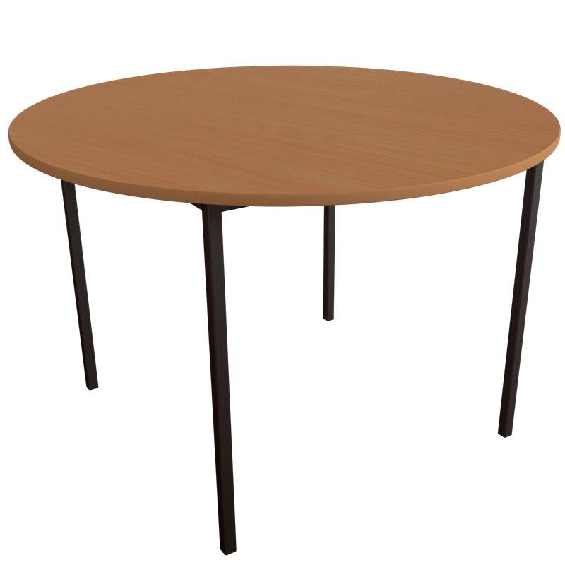 Стол детский Круг на металлическом каркасе. Детские столы для садиков
