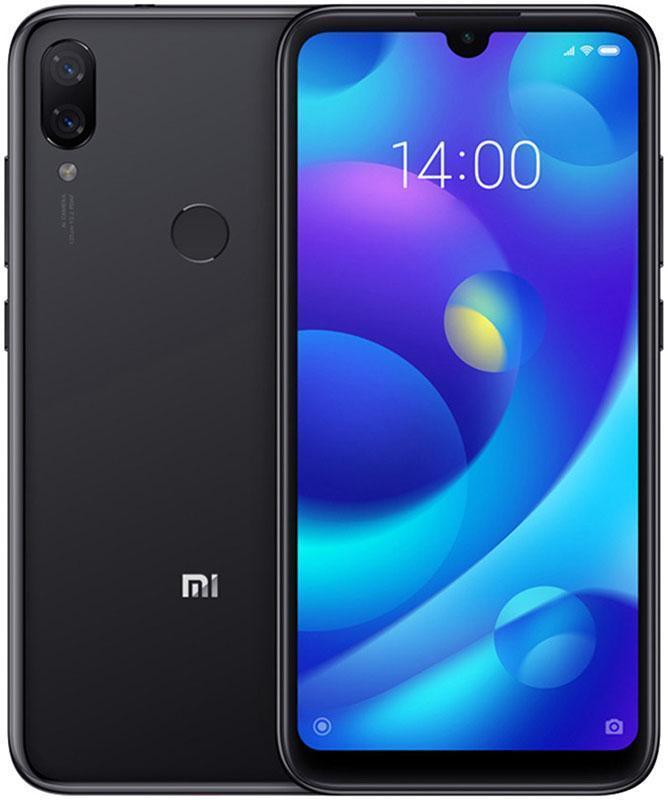 Смартфон Xiaomi Mi Play 4/64 Black [Global] (M1901F9E) EAN/UPC: 6941059621959