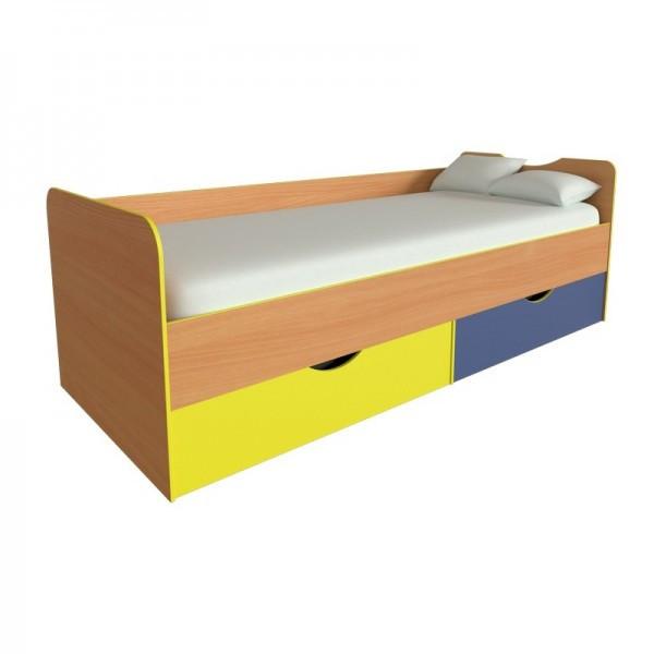 Детская кровать Мозайка с ящиками от производителя
