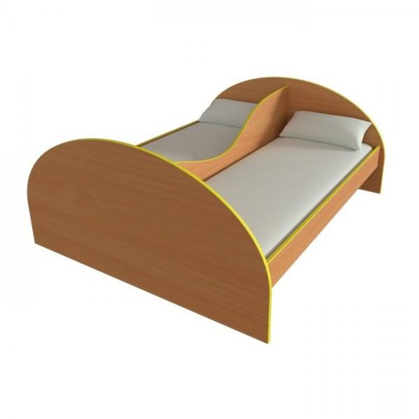 Кровать детская двойная Бриз от производителя