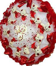 Букет Gift for Soul большой из игрушек 12 мишек РР 1542