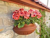 Уличный горшок для цветов Вазон настенный 450