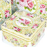 """Набор коробок """"Благоухающая роза"""" (0265J) жесть , фото 2"""